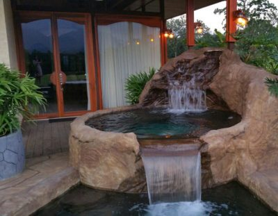 Arenal Hills Villa Heated Pool and Artwork Waterfall