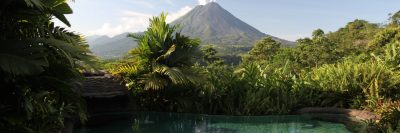 View of Arenal Volcano From The Springs Resort and Spa