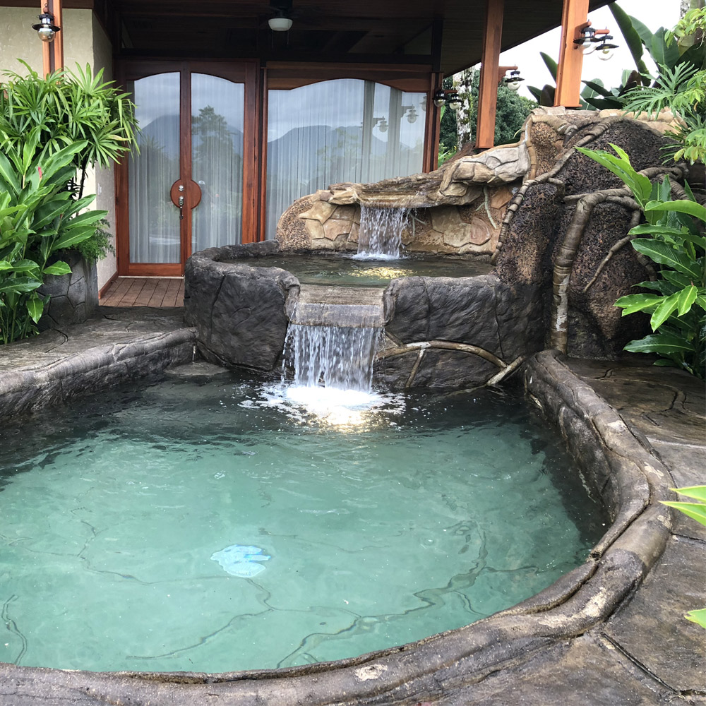 Arenal Hills Villa Heated Custom Waterfall Pool