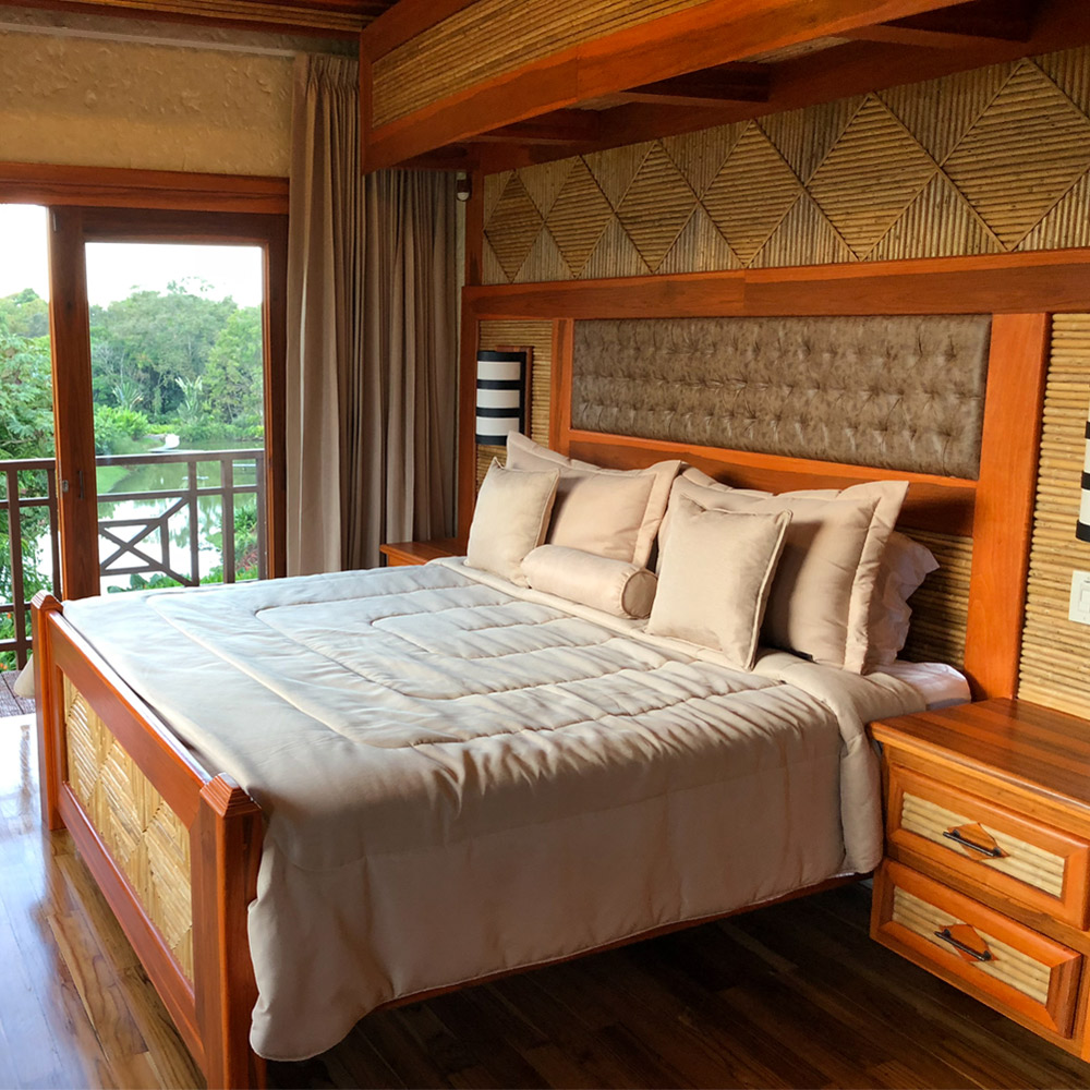 Arenal Hills VIlla Interior Second Story Bedroom