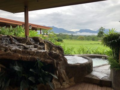 Arenal Hills View From Villa Pool