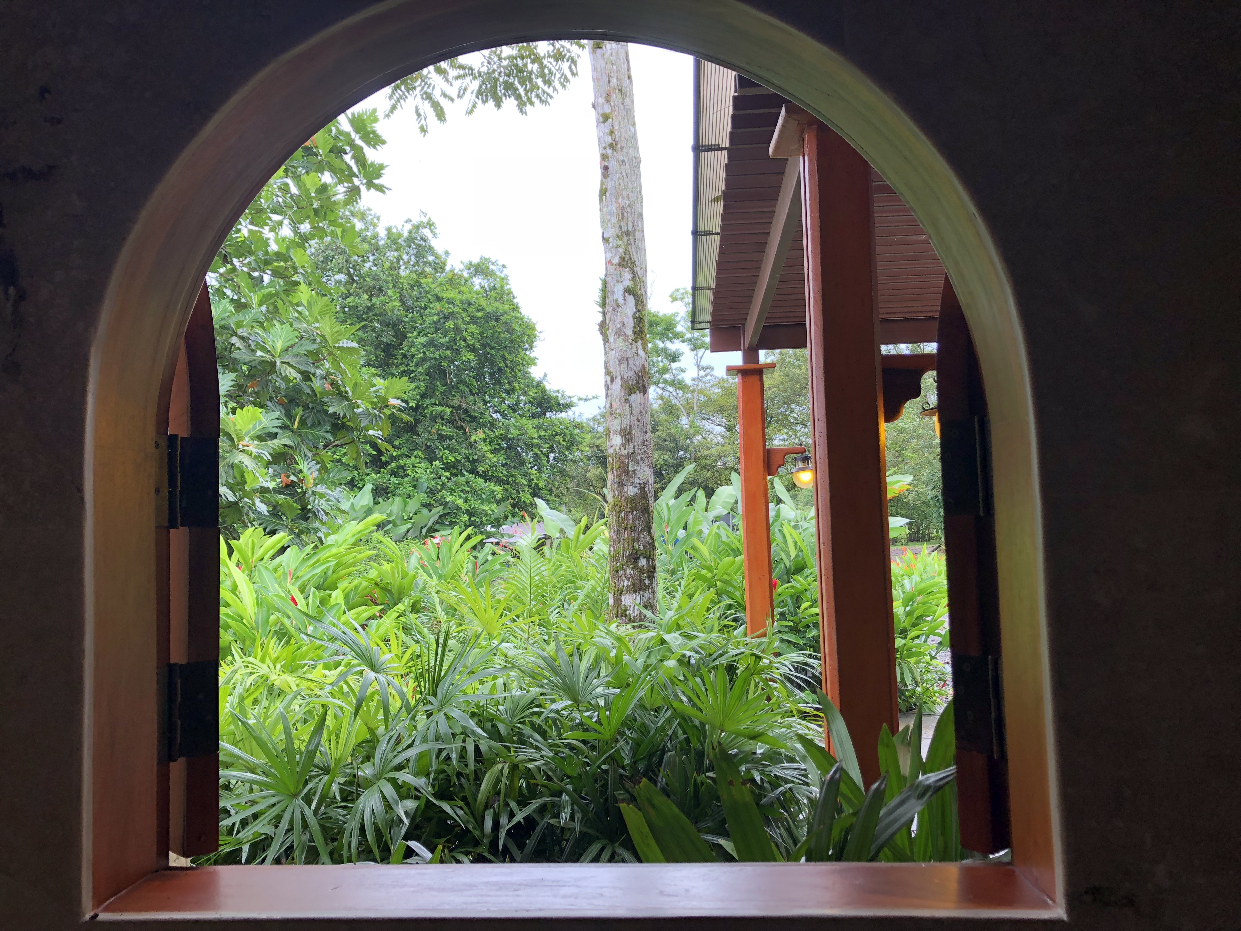 Arenal Hills View From Villa Window